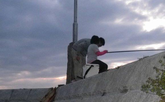 小豆島で釣り