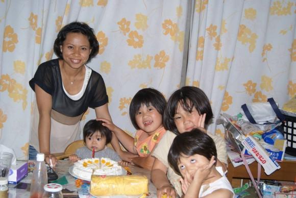 第4女の誕生日