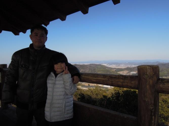 茶臼山登山