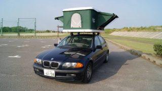 BMWにルーフテント