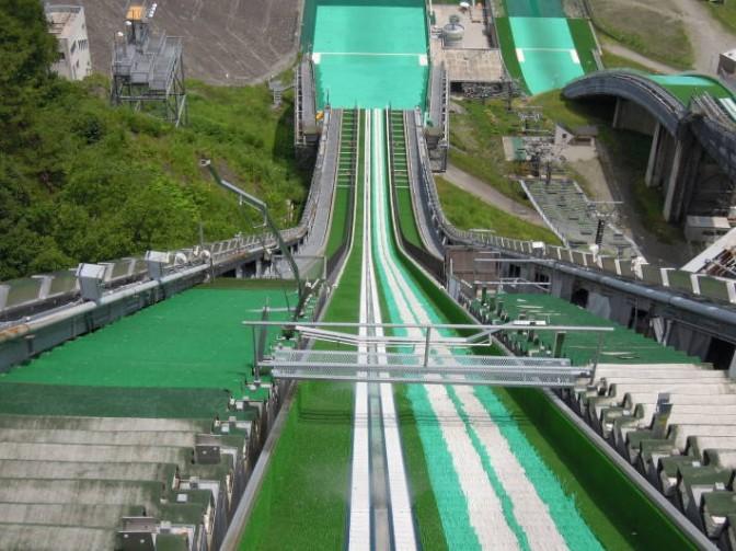 長野五輪ジャンプ台
