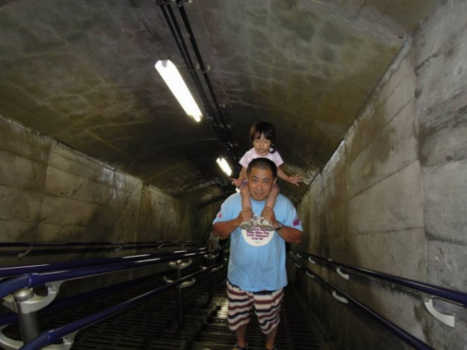 黒部ダムトンネル