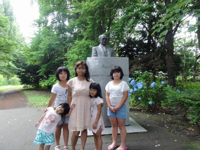 新渡戸稲造像