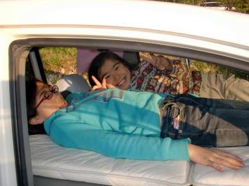 松本さんの車中泊
