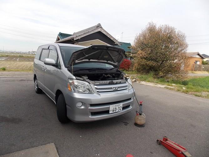 CVT&エンジンオイル交換