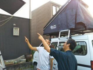 静岡のルーフテント販売店