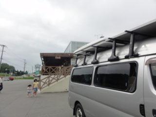 北海道でルーフテントで車中泊