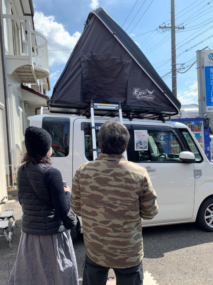 愛知県のルーフテント販売店